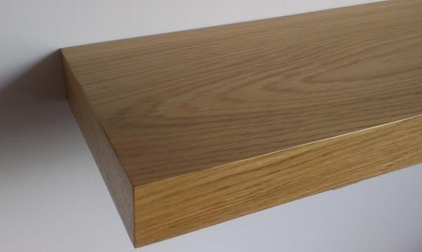 Oak veneer shelve