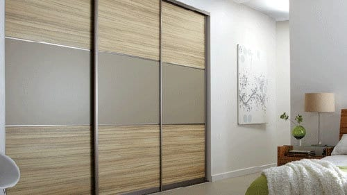 Siding door wardrobes