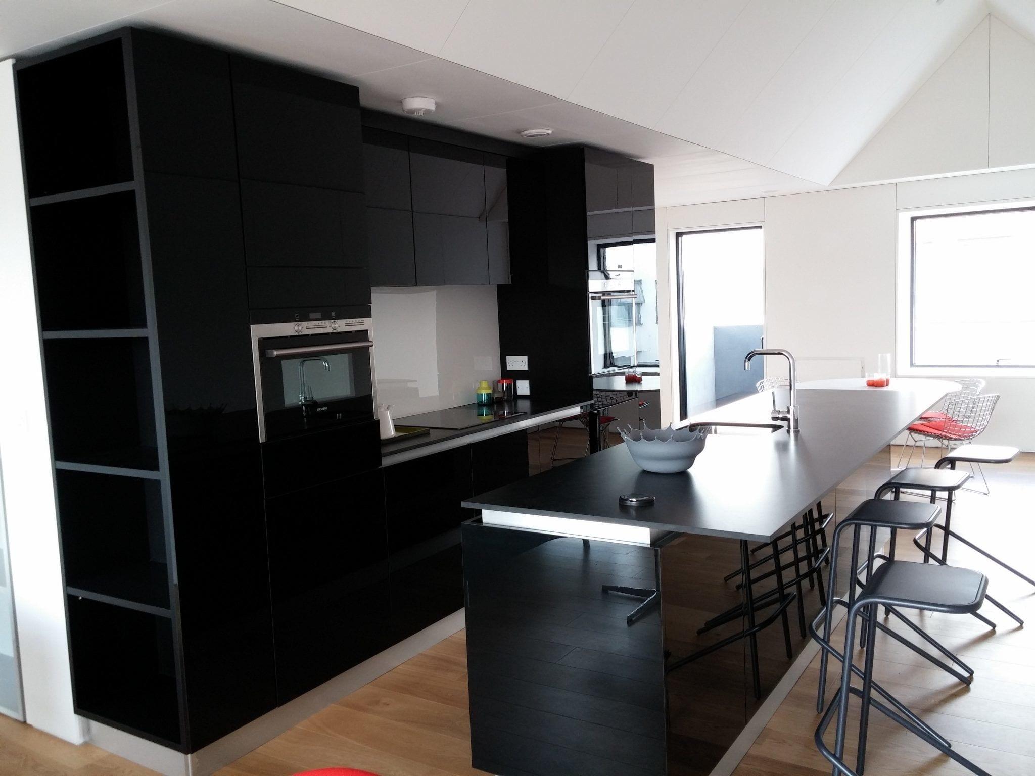 Modern High Gloss Kitchen Furniture For Urban Splash And Sig