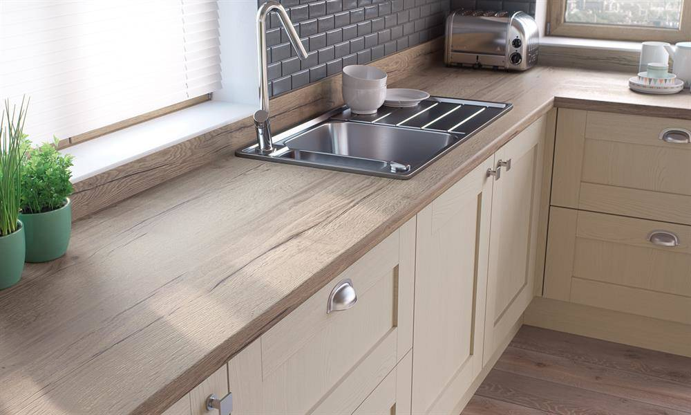 Kitchen Worktops Used For Production Of Our Bespoke