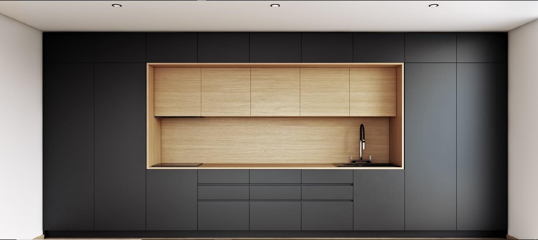 Fenix Laminates Bespoke Kitchen Furniture